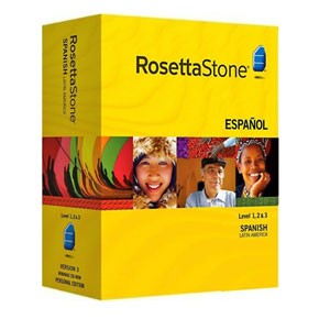 Rosetta Stone Spanish (Latin America) Level 1, 2, 3, 4, 5 Set Key