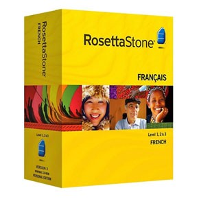 Rosetta Stone French Level 1, 2, 3 Set Key