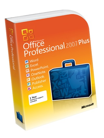 Office Professional Plus 2007 Key