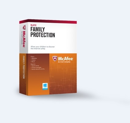 McAfee Family Protection product key