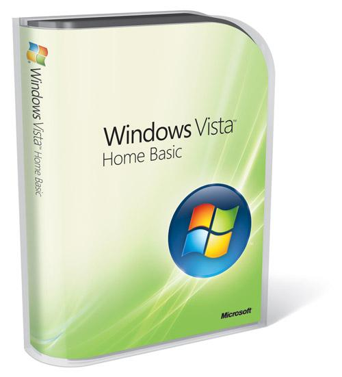 Microsoft Windows Vista Home Basic With SP2 product key